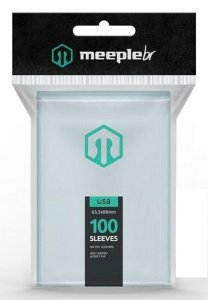 Sleeves MeepleBR - USA (56x87mm)