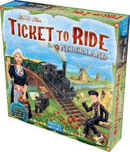 Ticket To Ride Holanda (Expansão)