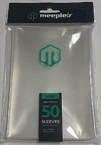 Sleeves MeepleBR - GOLD (80x120mm)