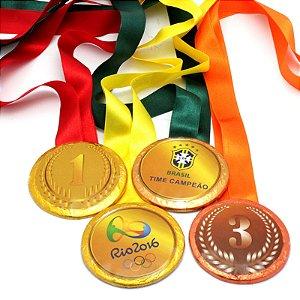 Medalha de Chocolate Personalizada
