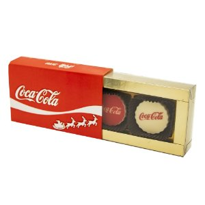 Caixa PVC com 2 Bombons Personalizados