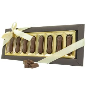 Língua de Gato - Chocolate ao Leite Recheado