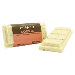 Tablete Origem Chocolate Branco com Cookie - 30g