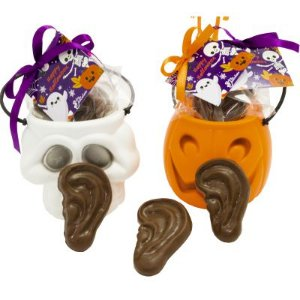 Orelha de Chocolate Dia das Bruxas