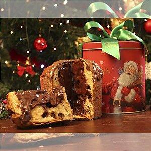 Lata Especial com Chocotone de Nutella