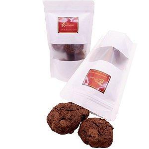 Cookie Chocolate com Gotas de Chocolate Belga 50% Cacau