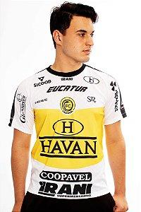 Camisa Oficial Segundo Uniforme Branca/Amarela - FC Cascavel 2020