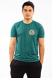 Camisa Verde Mescla Poli Viscose - FC Cascavel