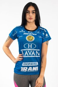 Baby Look Feminina Azul - EDIÇÃO LIMIDATA - FC Cascavel 2020