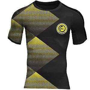 Camisa Preta/Amarela Premium - FC Cascavel 2021
