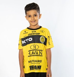 Camisa Infantil Amarela/Preta - FC Cascavel 2021