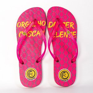 Chinelo Rosa Choque - FC Cascavel
