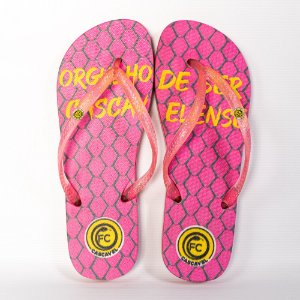 Chinelo Rosa Pink - FC Cascavel