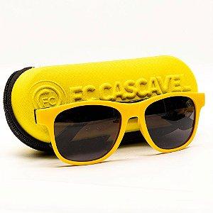 Óculos de Sol Amarelo/Preto - FC Cascavel