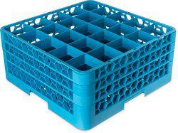 Rack para copos com 25 compartimentos com 3 Extensores Carlisle