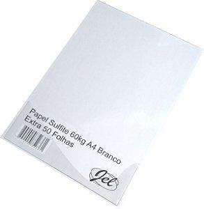 Papel Sulfite 60kg A4 Branco Extra 50 Folhas JEL