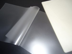 Plástico para Plastificação Polaseal Tamanho A4 125 Mícron Pacote com 10 plásticos