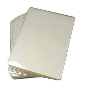 Plástico para Plastificação Polaseal Tamanho A4 125 Mícron Pacote com 20 plásticos
