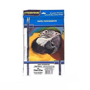 Papel Fotográfico Masterprint A4 180g 50 Folhas