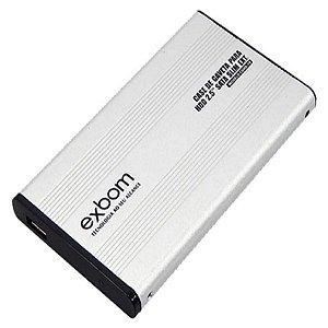 Case Para HD Sata Slim 2.5 Em Alumínio