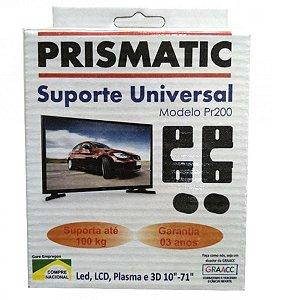 Suporte Fixo Tv Universal Prismatic Plasma Led de 10 a 71 Polegadas
