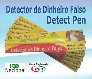 Caneta Detect Pen - Detector de notas falsas - Embalagem Duplex