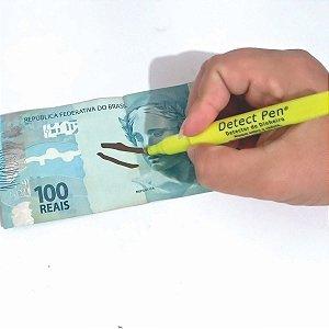 Canetas Para Identificar Notas Falsas Detect Pen 12 Unidades