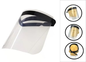 Protetor Facial Proteção Formato Viseira Máscara De Proteção