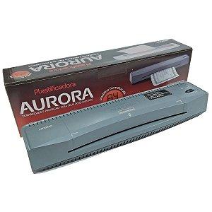 Plastificadora E Laminadora Aurora 220v A3 A4 OFICIO