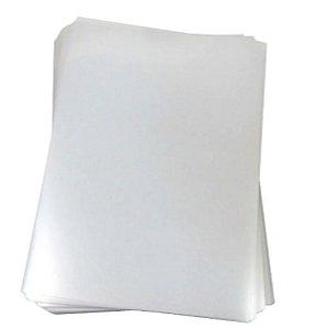 Capa para Encadernação PVC tamanho A4 Cristal com 50 unidades