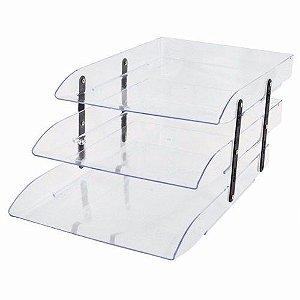 Caixa correspondência tripla CCM individual cristal