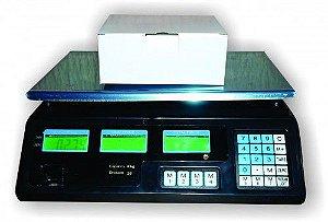 Balança Eletrônica Visutec| Pesa até 40 kg | Apresenta Peso e Valor