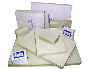 Pouch Film 80x110 Milimetros Espessura 0,05 Polaseal Tamanho. RG  125 Micron  Pacote com 100 plásticos