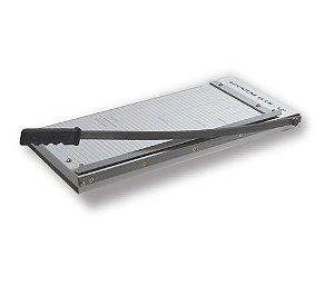 Guilhotina para cortar papel | Corta até 10 folhas. Tam 46cm - Excentrix