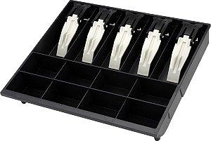 Porta Cédulas Moedas MG-40 - Prend. Cédulas Plástico 4.0