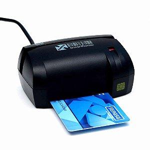 Leitor de smart cards e boletos bancários - Smarthome