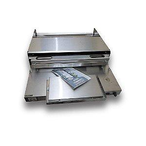 Embaladora de inox p/ película B 500 I para Filme PVC até 50cm