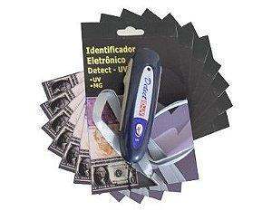 Detector de dinheiro falso - Caixa com 06 | Detect UV MG