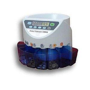 Máquina de Contar e Separar Moedas CDM95 Detect Eletronic 110v