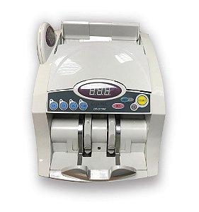 Contador de Cédulas de Dinheiro DP6100 - MENNO - 220v Com Detector de Notas Falsas Automática