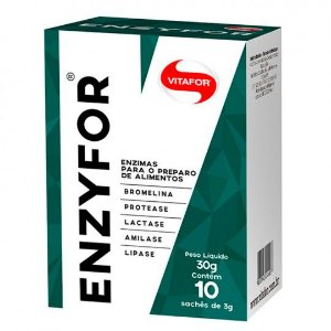 Enzyfor - 10 sachês - Mix de Enzimas