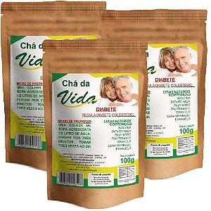 Kit Chá da Vida 100g - 3 unidades