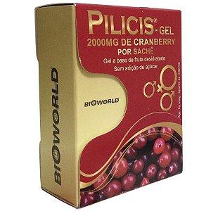 Pilicis Gel Cx 15 Sachês - Cramberry em Gel