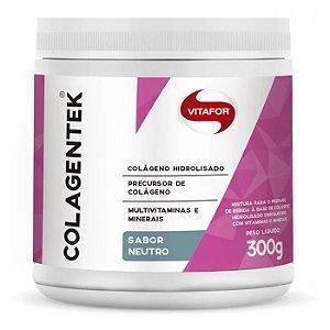Colagentek 300g - Colágeno Hidrolisado - Sabor Neutro - Vitafor