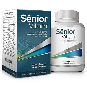 Senior Vitam 60 cáps - Vitamínico da Melhor Idade
