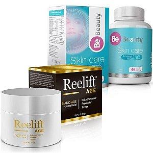 Reelift Nano Age 50g + Be Beauty Skin Care 60 cáps - Combo