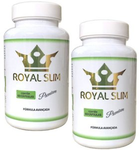 Kit Royal Slim 60 cáps - 2 unidades Royal Slim