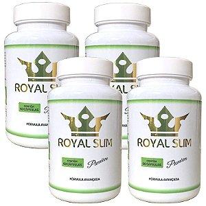 Kit Royal Slim 60 cáps - 4 unidades