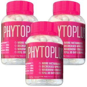 Phytoplus X 60 cáps - Kit 3 unidades