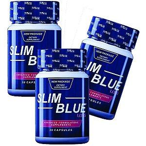 Slim Blue Loss 30 cáps - Kit 3 unidades
